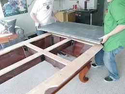 Pool table moves in Savannah Georgia
