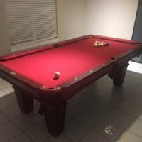 Spencer Marston Slate Pool Table