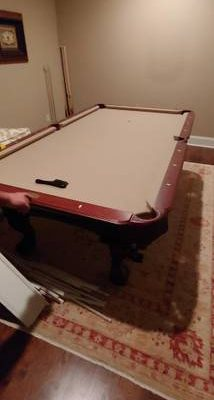 8ft Olhausen Slate Pool Table