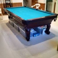8 Foot Pool Table- Beautiful Condition