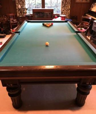 Brunswick Pool Table-Revere