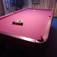 Brunswick Pool Table 9 Foot